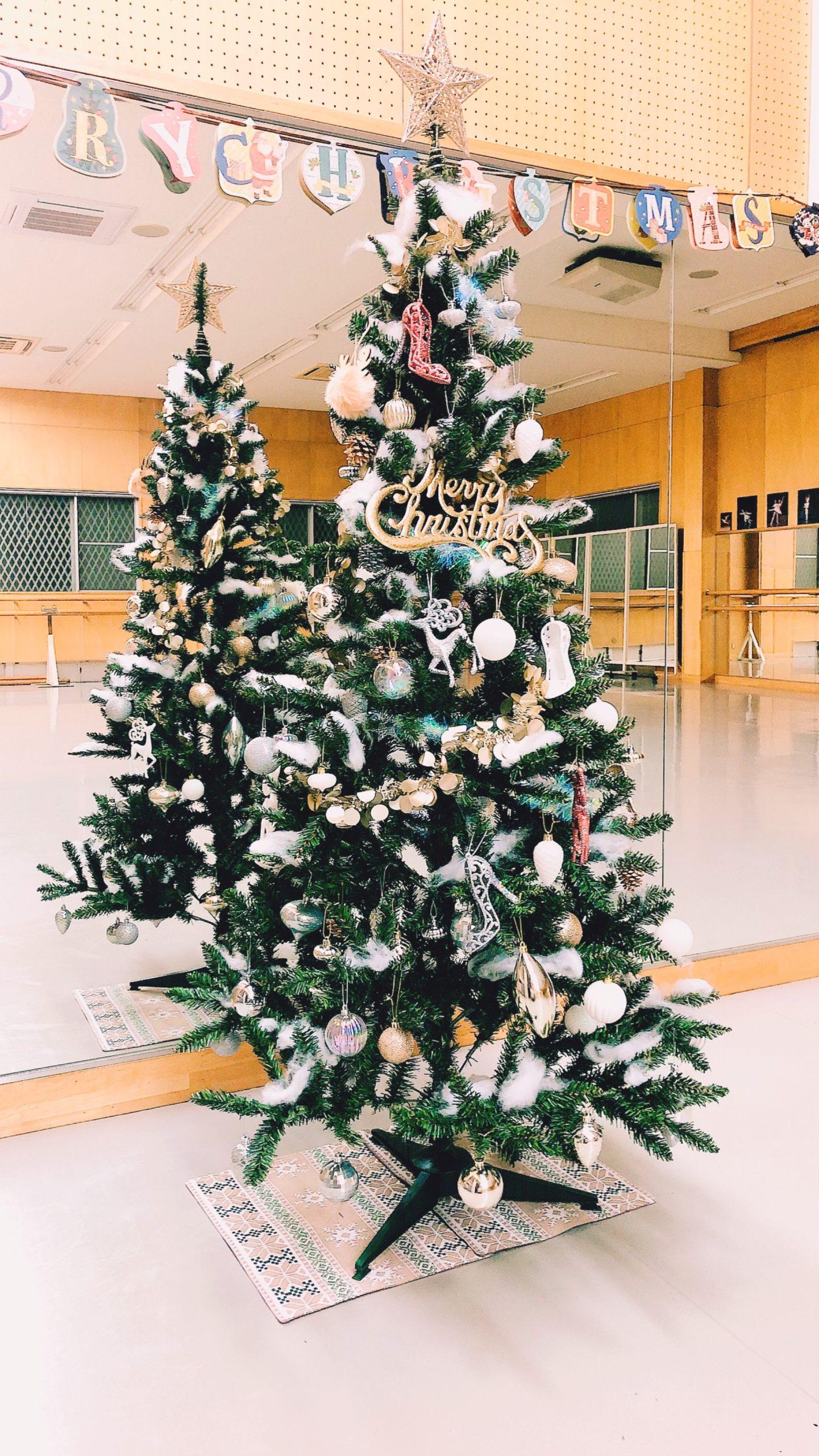 ちょっと早めのクリスマス飾り付け♪